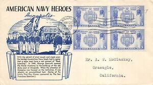 790-94 1c-5c Navy set of 5 San Francisco Examiner, Washington, D.C.  [350115]