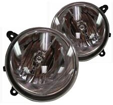 New Replacement Headlight Assembly PAIR / FOR 2007-08 JEEP COMPASS & PATRIOT