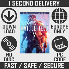 Battlefield V 5 BETAs Early Access Key + BF1 Weapon Pack Download (EA Origin PC)