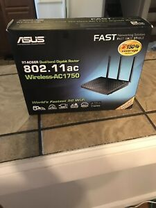 ASUS RT-AC66U B1 AC1750 Dual-Band WiFi Router