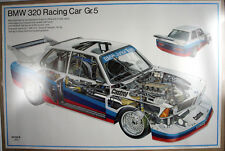 BMW E21 320i Turbo Motorsport M Power Racing Batmobile Marc Surer Art Car Poster