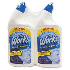 Kik International Disinfectant Toilet Bowl Cleaner, 32 oz Spray Bottle, 2/Pk,6