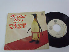 """STATUS QUO Whatever You Want -1979 PORTUGAL 7"""" single - Portuguese release"""