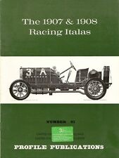 PROFILE PUBLICATIONS No 61 THE 1907 & 1908 RACING ITALAS
