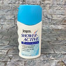 Vintage 1995 Jergens Shower Active Moisturizer 6 oz