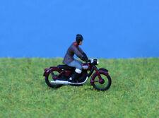 OO/HO gauge Painted Motorcycle & Rider - P&D Marsh PDZ103 free post F1