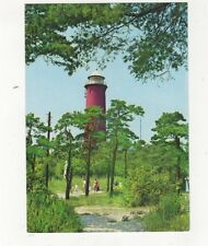 Krynica Morska Lighthouse Poland Postcard  407a ^