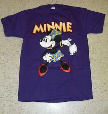 MINNIE Mouse shirt sz Large Disney Purple Mint NEW Mickey Mouse nwot Vintage 90s