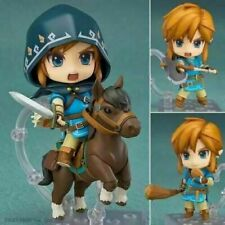 Anime The Legend of Zelda Breath Wild Link 733-DX Action PVC Figure No Box 10cm