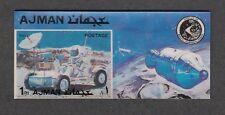 / Ajman, Mi. cat. 1451, BL374. Moon Rover 2-D s/sheet.