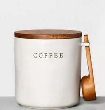 New listing Hearth and Hand with Magnolia Stoneware Coffee Canister with Scoop
