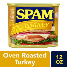 Spam Oven Roasted Turkey Luncheon Meat 12 oz