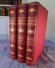 LARIVE ET FLEURY / DICTIONNAIRE FRANCAIS ILLUSTRE DES MOTS ET DES CHOSES / 1897