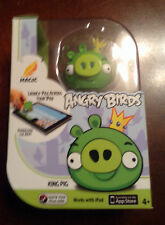 New Magic ANGRY BIRDS App Game Play with iPad Comes with King Pig Figure Fun!!