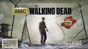Walking Dead Season 4 Part 2 Factory Sealed Hobby Box Autograph Wardrobe Auto