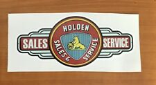 Holden Sticker Carburettor, carby edelbrock tool box,mancave,beer fridge car