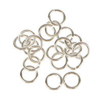 20x 925 Sterling Silver Open Jump Ring Connector Jewelry Making Findings 4mm