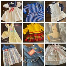 Vintage Lot Curated Girls Clothes 3 4 Years Dresses Tops 60s 70s 80s A2