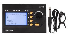 EMT-09 Multifunctional 3in1 Digital Tuner + Metronome + Tone Generator Chromatic
