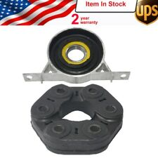 Driveshaft Center Carrier Support+Bear Flex Disc Joint Set New For BMW E36 E39