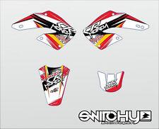 Sticker Kit Grafiken easy #2smoke w HONDA CR 125 250 00 2001 Abziehbilder Dekor