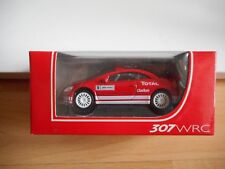 Norev Peugeot 307 WRC in Red on 1:64 in Box