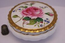 """Hand Painted & Signed Coalport """"Birbeck Rose"""" Pattern Pot Signed by W.Birbeck!!"""