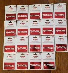 Rot Tj Maxx Lager Uncharged Nicht Wert Sammlerstück Geschenk Karten Menge 19 Neu
