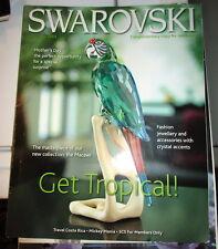 2005 Swarovski Magazine Macaw April May 2005 Tropical