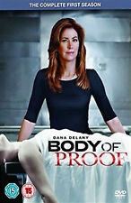 BODY OF PROOF COMPLETE SERIES 1 DVD First Season Dana Delany Jeri Ryan New UK R2