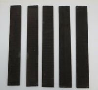 "JET BLACK INDIAN EBONY GUITAR/LUTHIER/BANJO FINGERBOARD BLANK 21"" X 2.95"" (1 Pc)"
