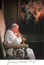 CARTE POSTALE PAPE PAPA POPE JEAN-PAUL II