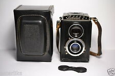 LOMO LUBITEL 2 Old Soviet/Russian TLR Camera, Export model