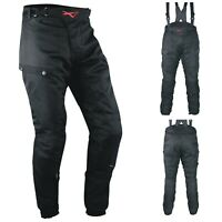 CE Armored Motorcycle Motorbike Waterproof Textile Thermal Ladies Man Trousers