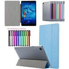 Leather Thin Smart Flip Case Cover For Huawei MediaPad T3 T5 M3 Lite M5 9.6 10.8