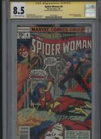 Spider-Woman #4 CGC 8.5 SS Marv Wolfman 1978 Dave Cockrum CARMINE INFANTINO
