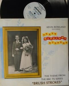"""KEVIN ROWLAND ft DEXYS MIDNIGHT RUNNERS ~ Because Of You ~ 12"""" Single PS"""