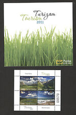 MONTENEGRO-MNH** BOOKLET-TURISM-NATURE-MOUNTAIN-RIVER-LAKE-2011.