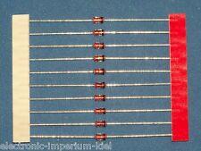 10 x Diodos zener 100 V / 1,3 W