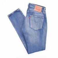 Vintage LEVI'S 501S Skinny Fit Men's Blue Distressed Jeans W34 L34