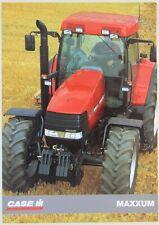 prospectus brochure tracteur CASE IH MAXXUM tractor traktor prospekt trattore