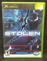 Stolen - Original Microsoft Xbox Game 1 Owner Near Mint Disc