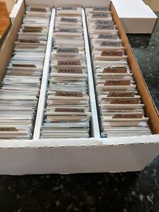 Baseball Card Collection / Lot Organized By Team - Included Rookies, HOF, etc