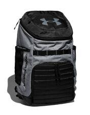 Under Armour UA Undeniable 3.0 Backpack Bookbag 5 Compartment RARE Gray / Black