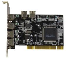 PCI Schnittstellen Karte PCI, Firewire 3-Port IEEE 1394 + USB 2.0 4-Port FiWi