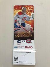 unused hockey tickets Montreal Canadiens 2017 season Carey Price
