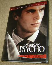 American Psycho Uncut Version Killer Collector'S Edition, Region 1, Widescreen