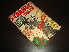 STRANGE TALES #101  1st Human Torch  Silver Age  Marvel Comics 1962 VG/VG-
