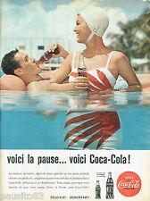 PUBLICITE ADVERTISING 115  1960  COCA-COLA  soda