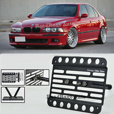 98-03 BMW E39 M5 5-Series No PDC Front Tow Hook License Plate Relocator Bracket